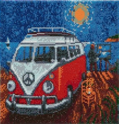 Diamond Painting - Crystal Art Kit - VW Camper