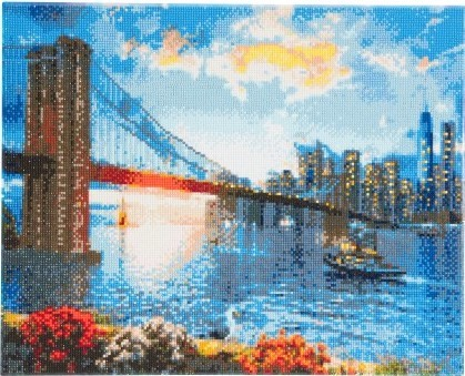 Diamond Painting - Crystal Art Kit - New York Skyline