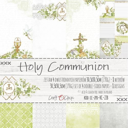 Craft-O-Clock - Paper Collection Set 30,5 x 30,5 cm - Holy Communion