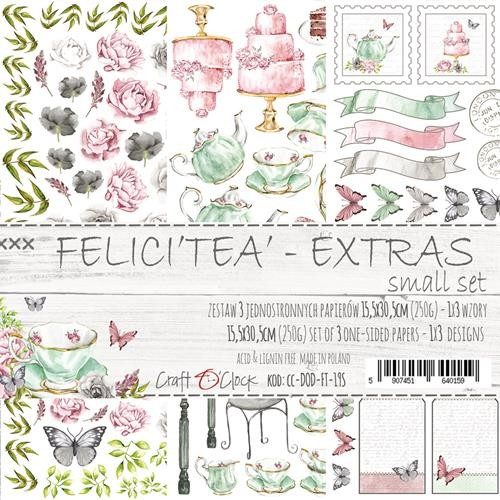 Craft-O-Clock - Paper Collection Set - Cutting Sheets Felici`tea