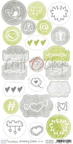 Craft-O-Clock - Die-Cuts - Greenery Charm