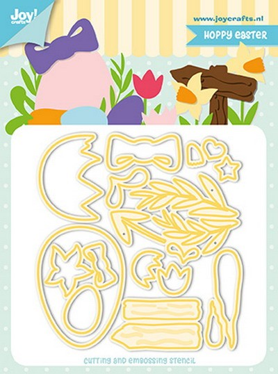 Joy! Crafts - Cutting & Embossing mal - Jocelijne Design - Easter