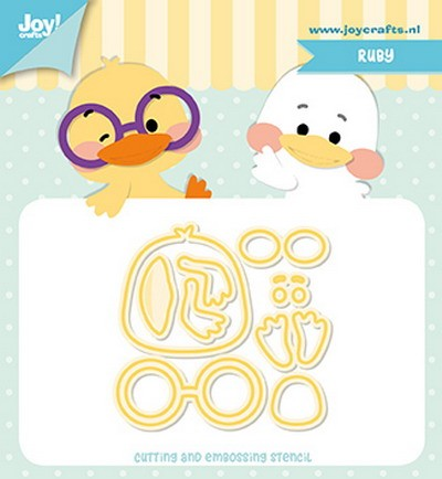 Joy! Crafts - Cutting & Embossing mal - Jocelijne Design - Ruby