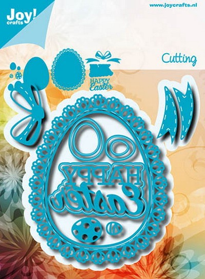 Noor! Design - Cutting & Embossing mal - Blauwe mal - Happy Easter