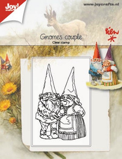 Joy! Crafts - Clearstamps - Rien Poortvliet - Kabouter stel