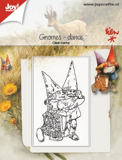Joy! Crafts - Clearstamps - Rien Poortvliet - Kabouter dans
