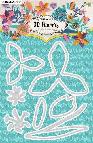 Studio Light - 3D Flower Dies - nr. 180