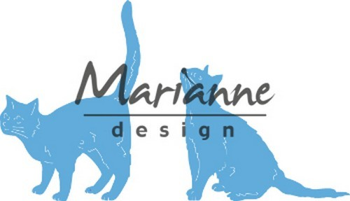 Marianne Design - Creatable - Tiny`s katten