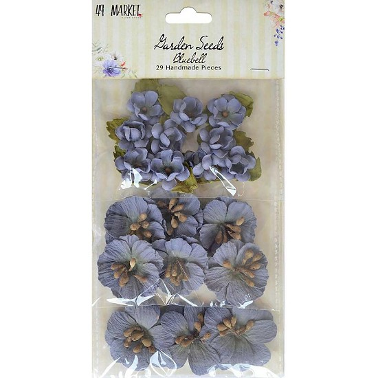49 And Market - Bloemen - Garden Seeds - BlueBell