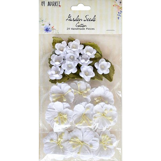 49 And Market - Bloemen - Garden Seeds - Cotton