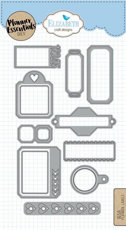 Elizabeth Craft Designs - Labels