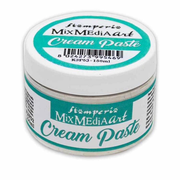Stamperia - Cream Paste 150ml - White
