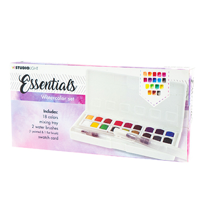 Studio Light - Essentials - Watercolor Aquarelset 01