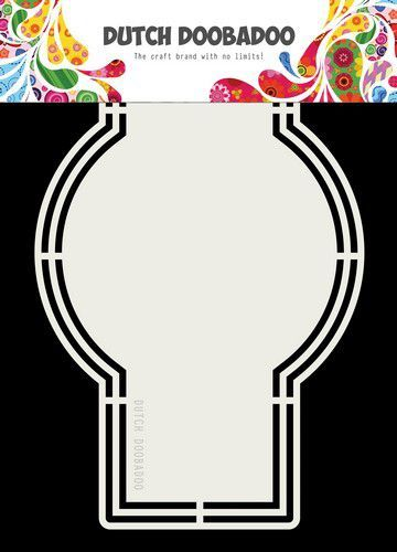 Dutch Doobadoo - Dutch Shape Art - A5 Label