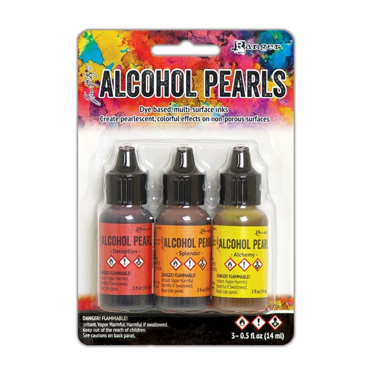 Alcohol Inkt - Pearl set - Kit 1