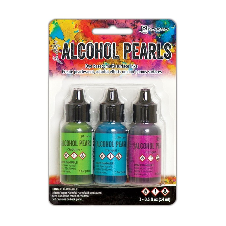 Alcohol Inkt - Pearl set - Kit 2