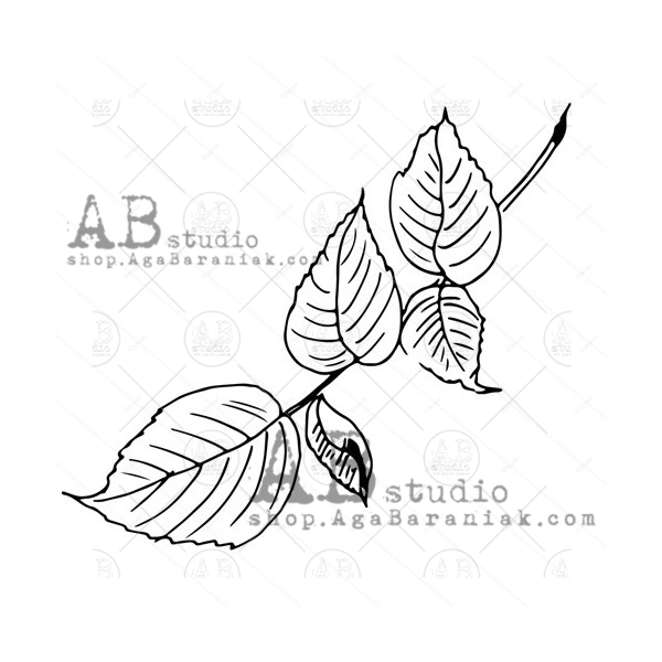 AB Studio - Rubber Stamp - ID-2