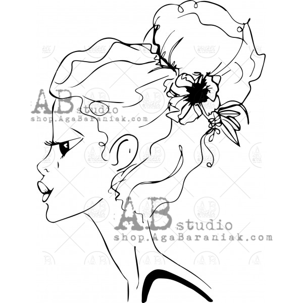 AB Studio - Rubber Stamp - Ilse Kleijer - ID-357