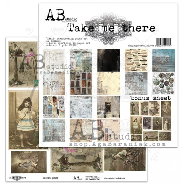Collection Kit - AB Studio - Take me There