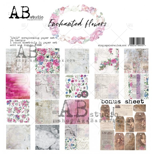 Collection Kit - AB Studio - Enchanted Flowers