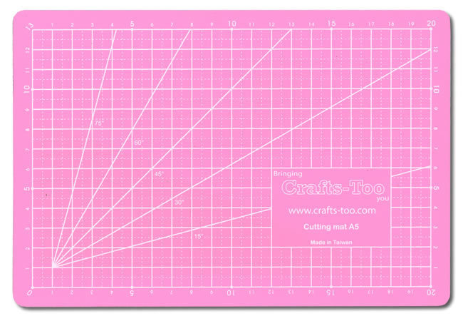 Card Deco Essentials - Self-healing Cutting mat - Roze A5