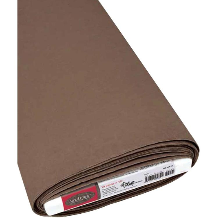 Kraft-Tex - Kraft Paper Fabric - 48cm x 0,5 meter - Chocolate