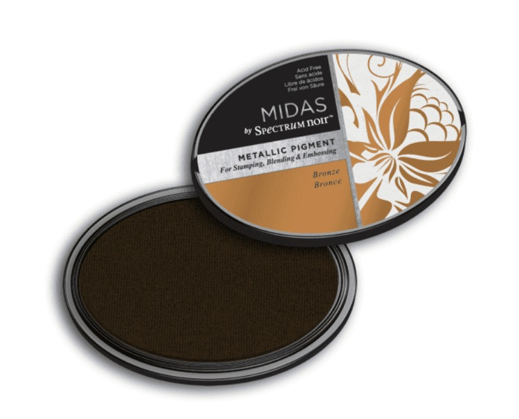 Crafter`s Companion Ink - Midas Metallic Ink - Bronze