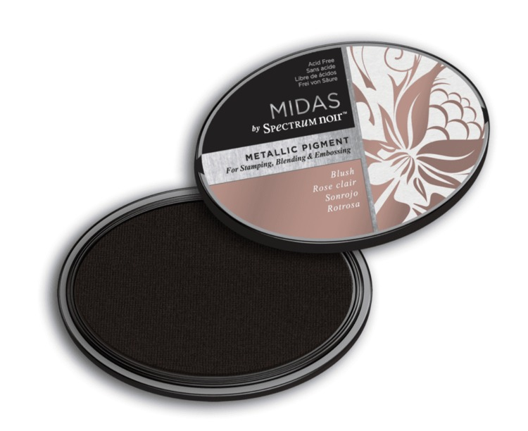 Crafter`s Companion Ink - Midas Metallic Ink - Blush