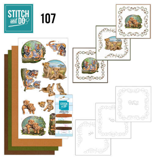 Stitch and Do 107 Wild Animals