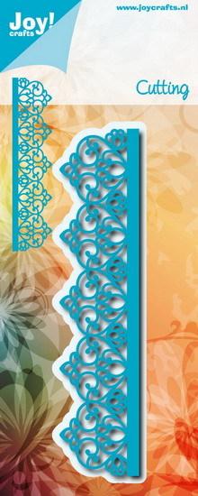 Noor! Design - Cutting & Embossing mal - Blauwe mal - Rand sierlijk