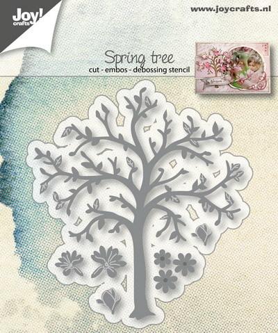 Joy! Crafts - Cutting & Embossing mal - Voorjaarsboom