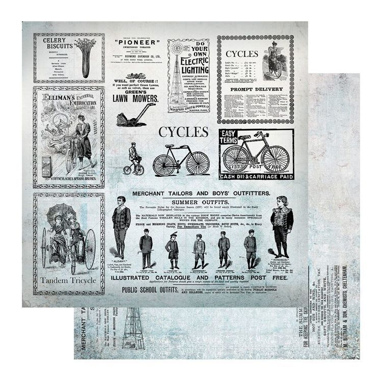 Scrappapier - Couture Creations - Gentleman's Emporium - Sheet 11