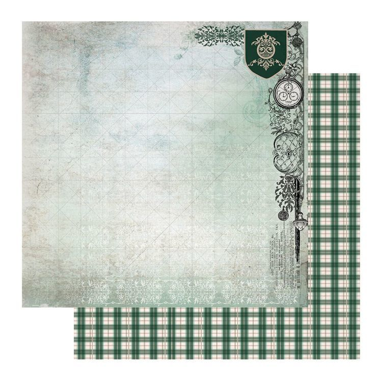 Scrappapier - Couture Creations - Gentleman's Emporium - Sheet 8