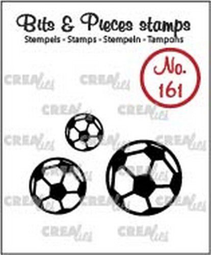 Crealies - Clearstamp Bits & Pieces - Voetballen