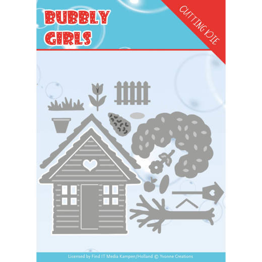 Stansmal - Yvonne Creations - Bubbly girls- In the Garden