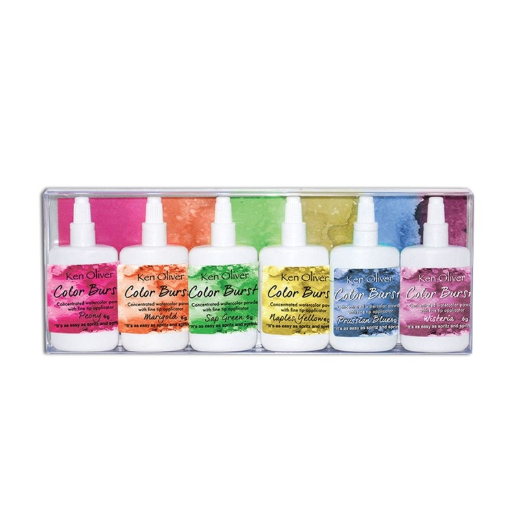 Ken Oliver - Color burst powder - 6 pack Fresh Florals