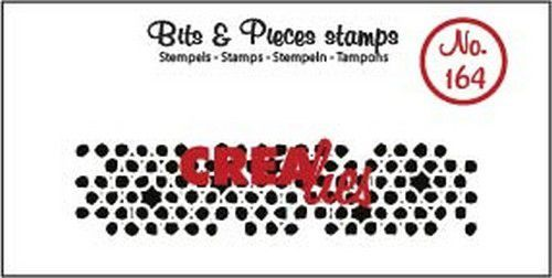 Clearstamp Crealies - Bits & Pieces - Onregelmatige cirkels (lang)
