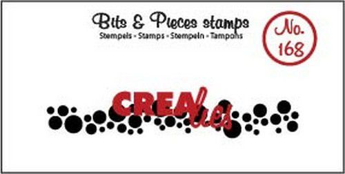Clearstamp Crealies - Bits & Pieces - Cirkels langwerpig (lang)