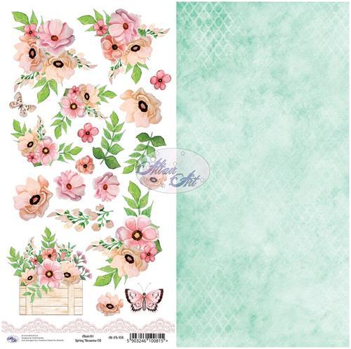 Altair Art - Spring Blossom - Cutting Sheet 108