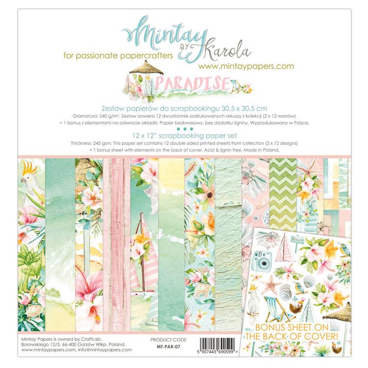 Paperpad Mintay - Paradise 30,5 x 30,5 cm - MT-PAR-07