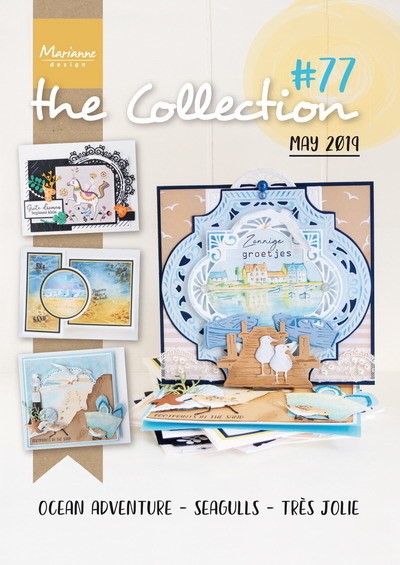 Marianne Design - Tijdschrift The Collection #77
