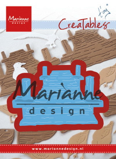 Marianne Design - Creatable - Tiny's Beach Jetty