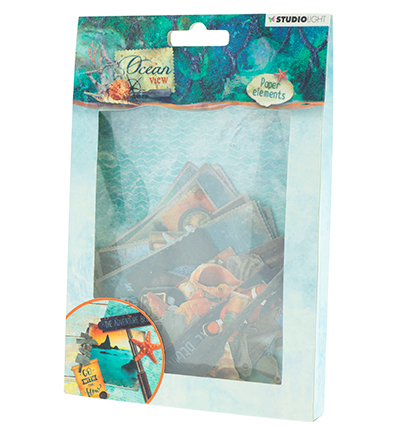 Studio Light - Ocean View - Die-Cut set - EASYOV649