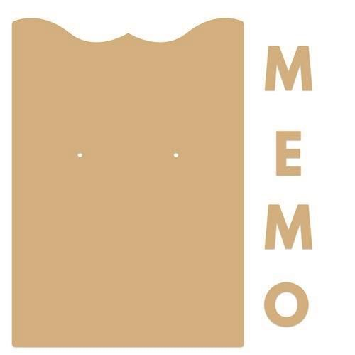 Dutch Doobadoo - Dutch MDF Art - Memo Klembord