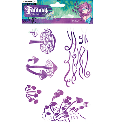 Studio Light - Fantasy Collection - Mask stencil MASKFC19