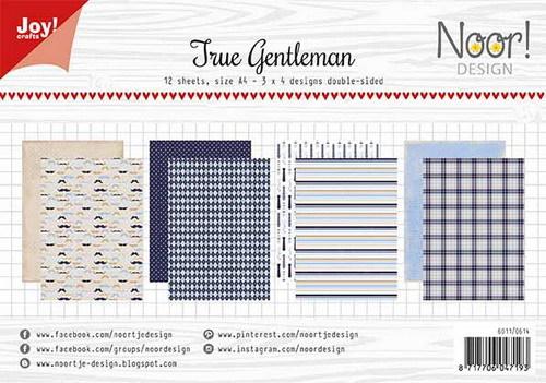 Noor! Design - Paperpad A4 - True Gentlemen