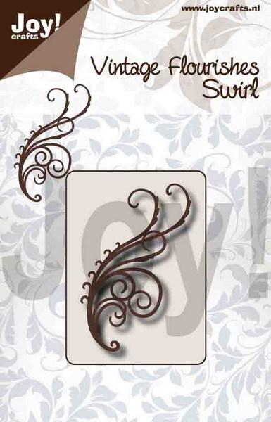 Noor! Design - Vintage Flourishes - Swirl