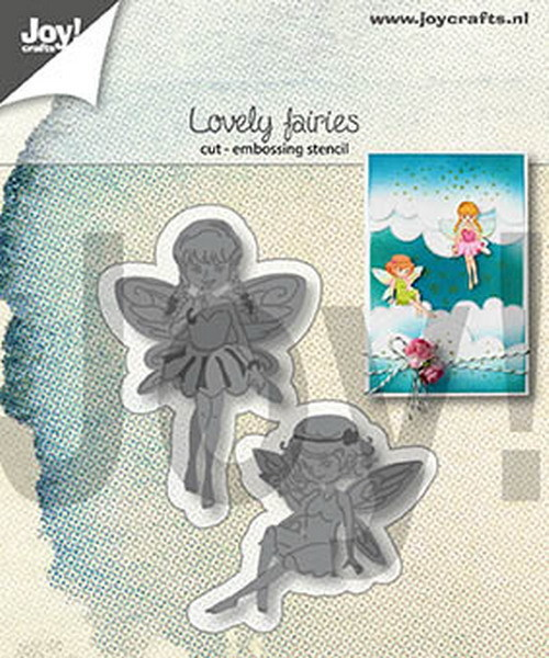 Joy! Crafts - Cutting & Embossingmal - Lovely Fairies