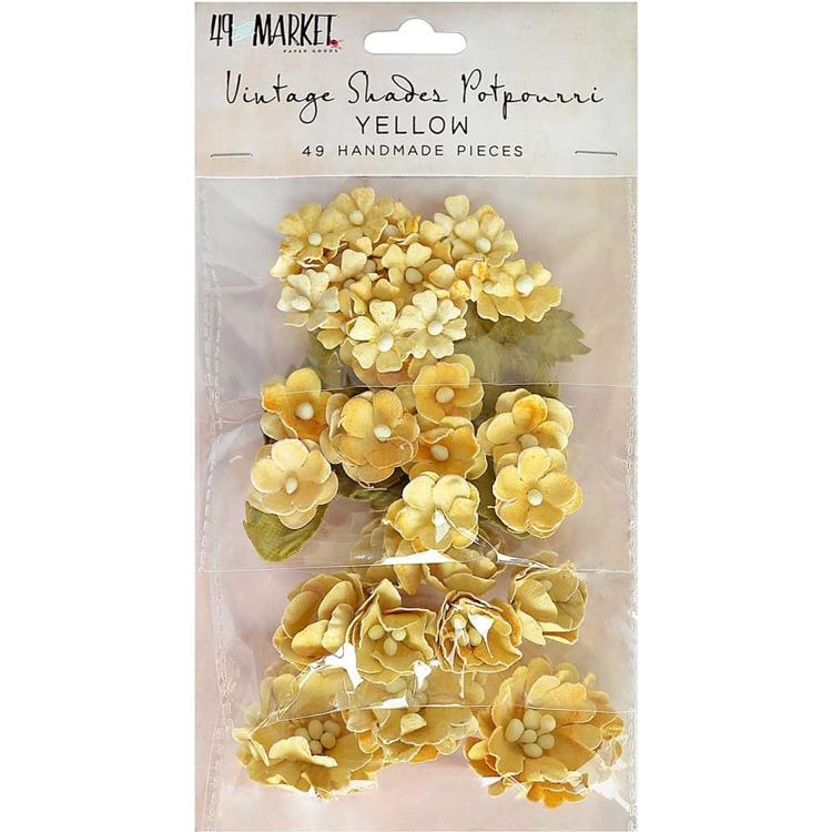 49 And Market - Vintage Shades Potpourri - Yellow