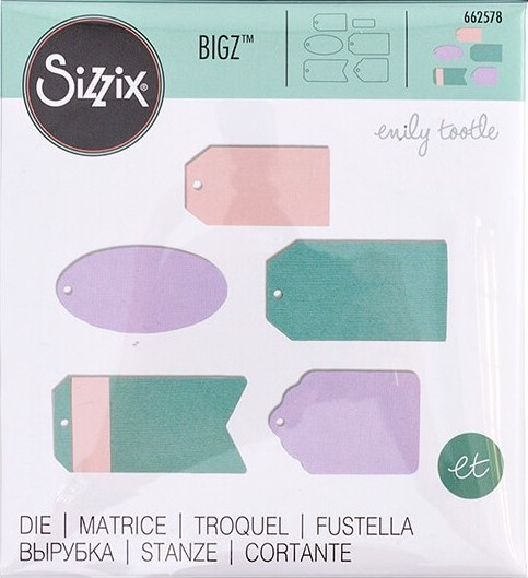 Sizzix - Bigz Die - Essential Tags